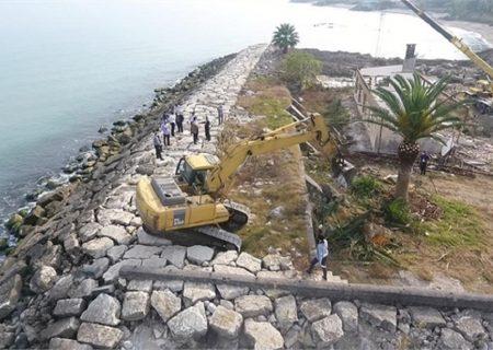 آزاد سازی ۳۱ هزار متر از نوار ساحلی مازندران