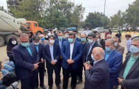 افتتاح فاز اول تصفیه خانه آبرسانی به شهرهای گروه الف مازندران
