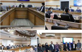 برگزاری جلسه اتاق فکر جوانان در ارتباط با نقش ایشان در پیشبرد اهداف اقتصادی شرکت