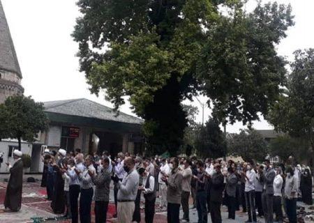 اقامه نماز عید فطر در امامزادگان مازندران