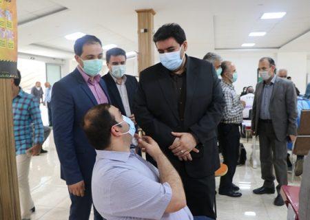آغاز واکسیناسیون خبرنگاران مازندرانی+ تصاویر