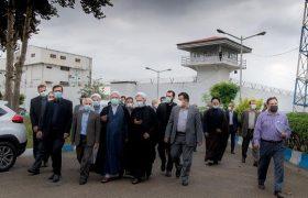 بررسی وضعیت زندانیان تعطیل بردارنیست/ بازدیدرئیس کل دادگستری و یکصد قاضی اززندان مرکزی ساری