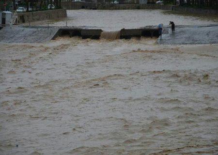 هشدار سیلابی شدن رودخانههای مازندران