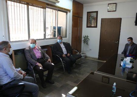 دیدار مدیرکل بهزیستی مازندران با مدیر کل امور شهری و شوراهای استانداری